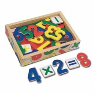 Melissa and Doug Magnetic Wooden Numbers #449 - click to enlarge