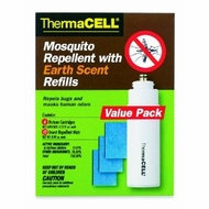 ThermaCELL E4 Mosquito Repellent with Earth Scent Refill Value Pack - click to enlarge