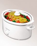 Hamilton Beach 33168 Double Dish 6 Quart Slow Cooker - click to enlarge