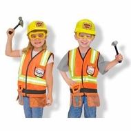 Melissa and Doug Construction Worker Costume Set - click to enlarge