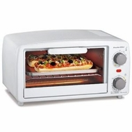 Proctor Silex 31116Y Toaster Oven 4 Slice, White - click to enlarge