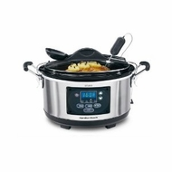 Hamilton Beach 33967 6qt Set n' Forget Slow Cooker - click to enlarge