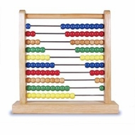 Melissa and Doug 493 Classic Wooden Abacus - click to enlarge