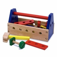 Melissa and Doug 494 Wooden Take Along Tool Kit - click to enlarge