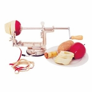 CucinaPro 340 Red Apple Peeler - click to enlarge