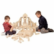 Melissa and Doug 503 Sixty-Piece Standard Unit Blocks - click to enlarge