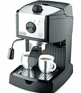 DeLonghi EC155 Pump-Driven Espresso Maker - click to enlarge