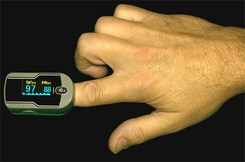 Oximeter Plus C-21 Finger Pulse Oximeter - click to enlarge