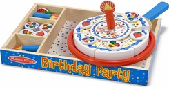 Melissa & Doug 511 Birthday Party Play Food Set - click to enlarge
