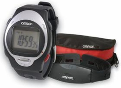 Omron HR100CN Wrist Heart Rate Monitor Watch - click to enlarge