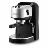 DeLonghi EC270 15-Bar-Pump Espresso Machine, Black and Stainless Steel - click to enlarge