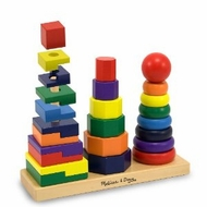 Melissa and Doug 567 Geometric Stacker - click to enlarge