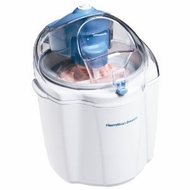 Hamilton Beach 68320 1.5 qt. Bucket Ice Cream Maker, White - click to enlarge