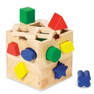 Melissa and Doug 575 Shape Sorting Cube - click to enlarge