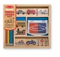 Melissa and Doug 2409 Vehicles Stamp Set