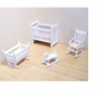 Melissa and Doug 2585 Doll House Nursery Furniture
