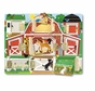 Melissa and Doug 4592 Magnetic Farm Hide and Seek Board