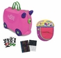 Trunki by Melissa and Doug Ride On Luggage with Descorative Stickers and Matching Saddlebag