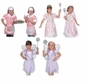 Melissa And Doug Princess Fairy and Waitress Role Play Costume Set of 3