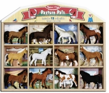 Melissa and Doug 592 Pasture Pals - 12 Horses - click to enlarge