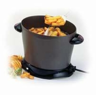 Presto 05450 DualDaddy Deep Fryer - click to enlarge