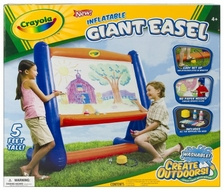 Crayola Inflatable Easel - click to enlarge
