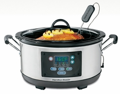 Hamilton Beach 33966 Set 'n Forget 6 Qt. Slow Cooker - click to enlarge