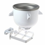 KitchenAid KICA0WH Ice Cream Maker Attachment - click to enlarge