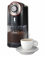 Melitta 80395 Burr Coffee Grinder - click to enlarge