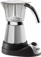 DeLonghi EMK6 Alicia Electric MOKA Espresso Maker - click to enlarge