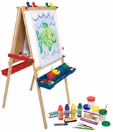Melissa & Doug Deluxe Standing Easel w/ Companion Set - click to enlarge
