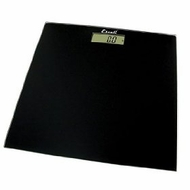 Escali B180SC Glass Platform Bathroom Scale, Black 400lb - click to enlarge