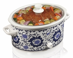 Hamilton Beach 33360 Dana Gibson 6 Quart Slow Cooker - click to enlarge