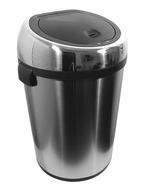 Nine Stars DZT-65-1 17.1 Gallon Stainless Steel Infrared Trashcan - click to enlarge