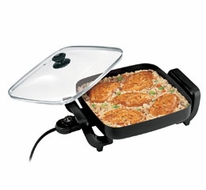 Proctor Silex 38520 Nonstick Electric Skillet - click to enlarge