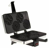 CucinaPro 220-03 Petite Four Pizzelle Baker - click to enlarge