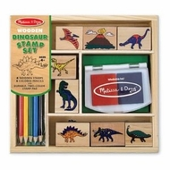 Melissa and Doug 1633 Dinosaur Stamp Set - click to enlarge