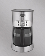 Hamilton Beach 40110 Eclectrics Sterling All-Metal Coffee Maker - click to enlarge
