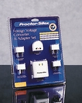 Proctor Silex 10082 Foreign Voltage Converter and Adapter Set - click to enlarge