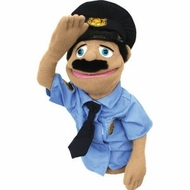 Melissa and Doug 2551 Police Officer Puppet - click to enlarge