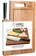Ginsu 07102 Chikara Series 7'' Santoku Knife w/ Cutting Board - click to enlarge