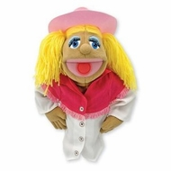 Melissa and Doug Cowgirl Puppet - click to enlarge