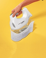 Hamilton Beach 62695R Hand Mixer with Snap-On Case - click to enlarge