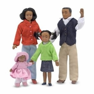 Melissa and Doug 2689 Victorian Doll Family - African American - click to enlarge
