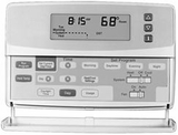 Honeywell CT3600 7 Day Electronic Programmable Thermostat - click to enlarge