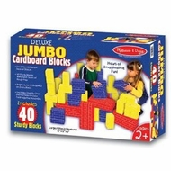 Melissa and Doug 2784 Deluxe Jumbo Cardboard Blocks - click to enlarge