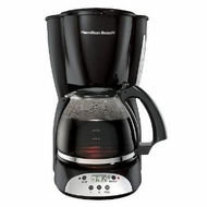 Hamilton Beach 49316 12 Cup Coffee Maker Black - click to enlarge