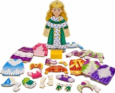 Melissa & Doug 3553 Princes Elise Magnetic Dress-Up Playset - click to enlarge