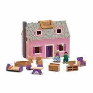 Melissa & Doug 3701 Mini Fold 'n Go Dollhouse - click to enlarge