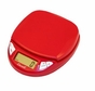 Escali N115CR Pico Digital Mini Scale, Cherry Red